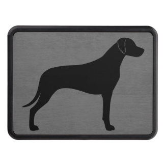 Rhodesian Ridgeback Silhouette Hitch Cover