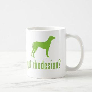 Rhodesian Ridgeback Tazas De Café