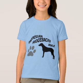 Rhodesian Ridgebacks Rule T-Shirt