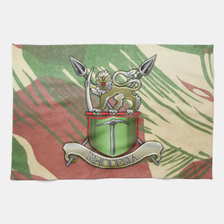 Rhodesian Security Forces Kitchen Towel