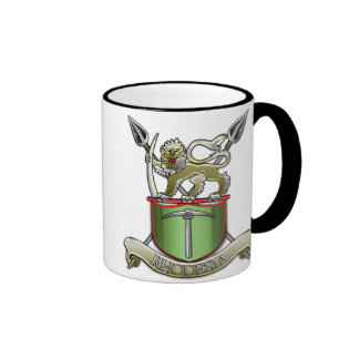 Rhodesian Security Forces Ringer Mug