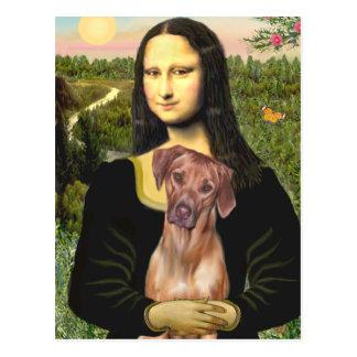 RhodesianRidgeback 1 - Mona Lisa Postales