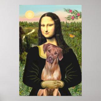 RhodesianRidgeback 1 - Mona Lisa Print