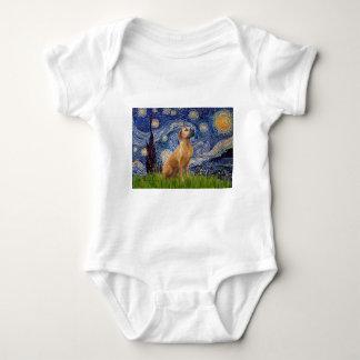 RhodesianRidgeback 2 - Starry Night Baby Bodysuit
