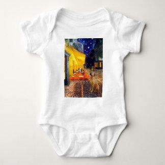 RhodesianRidgeback 2 - Terrace Cafe Baby Bodysuit