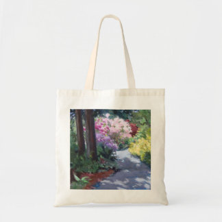 Rhodies on the Path tote bag