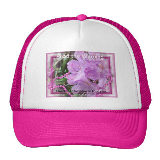 Rhododendron 2635 cap- personalize mesh hats