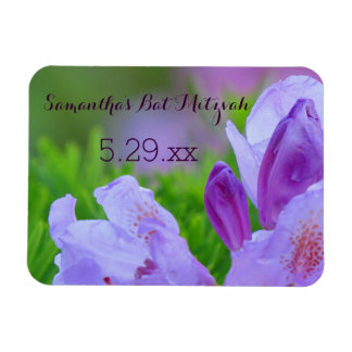 Rhododendron After the Rain Bat Mitzvah Custom Magnet