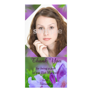 Rhododendron After the Rain Bat Mitzvah Thank You Card