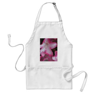 Rhododendron Blossom Close Up Adult Apron