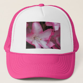Rhododendron Blossom Close Up Trucker Hat