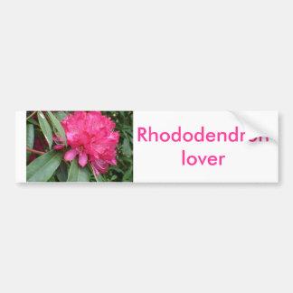 Rhododendron Bumper Sticker
