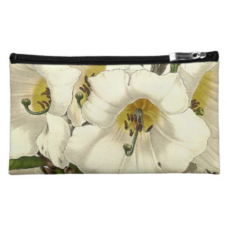 Rhododendron Floral Botanical Flowers Bag Cosmetic Bags
