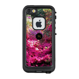 Rhododendron Floral Photography Monogram Case