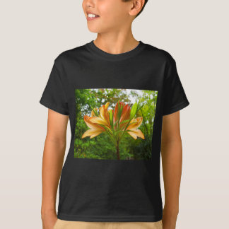 Rhododendron flower bloom with texture. T-Shirt