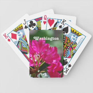Rhododendron in Washington Bicycle Playing Cards