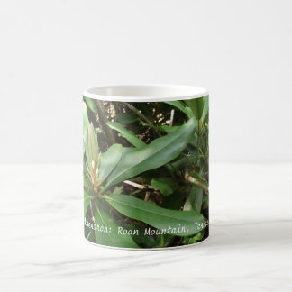 Rhododendron on Roan Mountain, Tennessee Coffee Mug