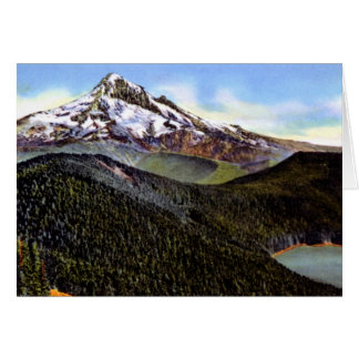 Rhododendron Oregon Mt. Hood Lost Lake Card
