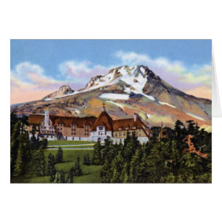 Rhododendron Oregon Timberline Lodge Mt. Hood Card
