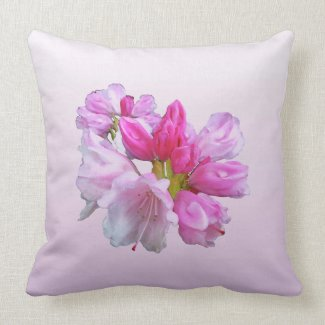 Rhododendron Pillow