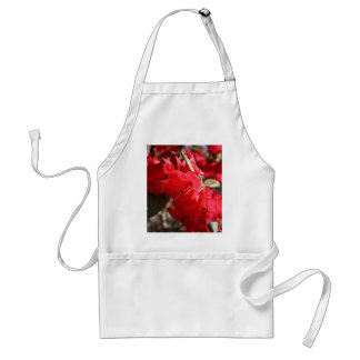 Rhododendron Red Flowers Apron