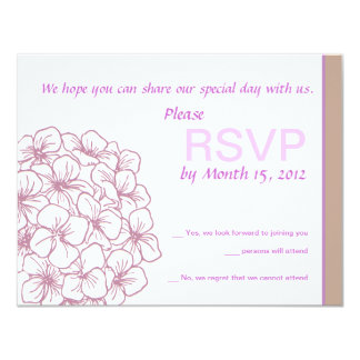 Rhododendron RSVP Card