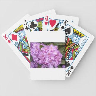Rhododendron Spielkarten