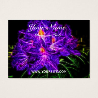 Rhododendron Topaz Business Card