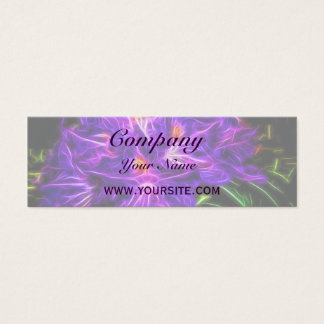 Rhododendron Topaz Mini Business Card