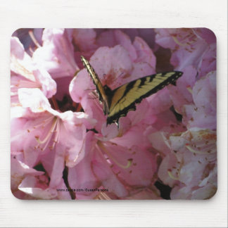Rhododendron With Swallowtail Mouse Pad