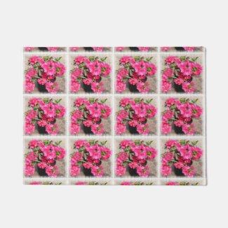 Rhododendrons Doormat