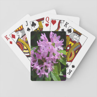 Rhododendrons with Bee Playing Cards