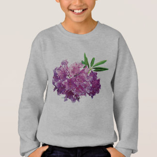 Rhododendrons With Leaves Kids Sweatshirt