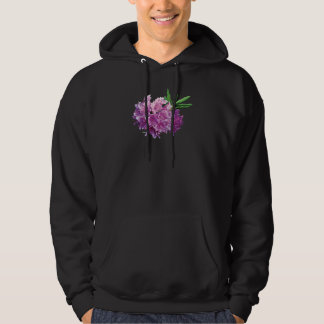Rhododendrons With Leaves Mens Hoodie