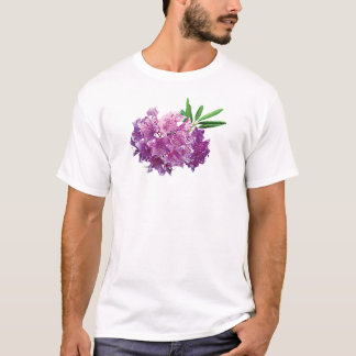 Rhododendrons With Leaves Mens T-Shirt