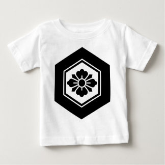 Rhombic flower with Swords in tortoiseshell Baby T-Shirt