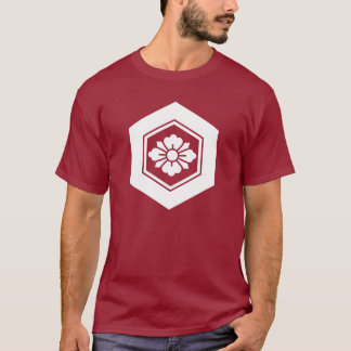 Rhombic flower with Swords in tortoiseshell T-Shirt