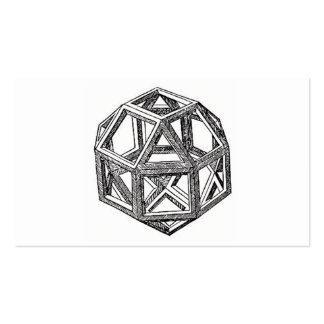 Rhombicuboctahedron, Leonardo Da Vinci Double-Sided Standard Business Cards (Pack Of 100)