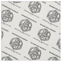 Rhombicuboctahedron Leonardo da Vinci Fabric