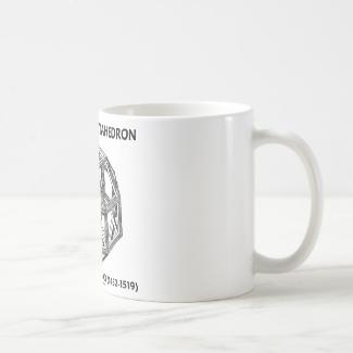 Rhombicuboctahedron (Leonardo da Vinci) Classic White Coffee Mug