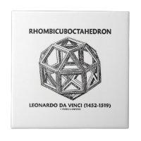 Rhombicuboctahedron (Leonardo da Vinci) Small Square Tile