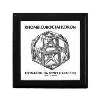 Rhombicuboctahedron (Leonardo da Vinci) Trinket Boxes