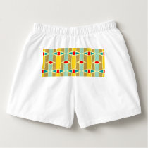 Rhombus and other shapes pattern boxers