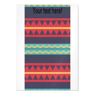 Rhombus and stripes chains pattern magnetic card