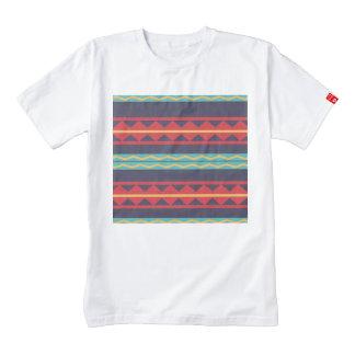 Rhombus and stripes chains pattern zazzle HEART T-Shirt