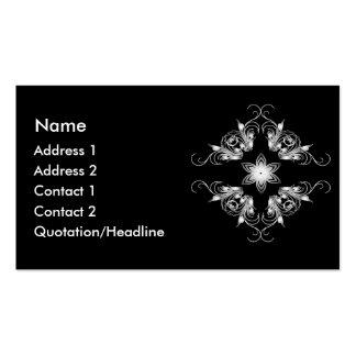 rhombus business card