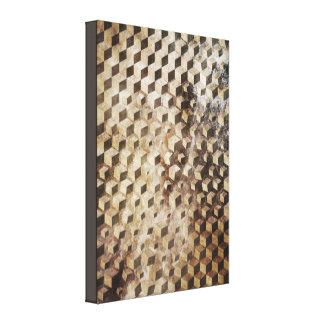 Rhombus Colapse Impresión En Lienzo