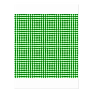 Rhombus - Offwhitegreen y verde Postal
