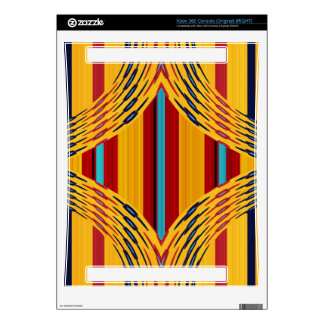 Rhombus on stripes skin for xbox 360 console