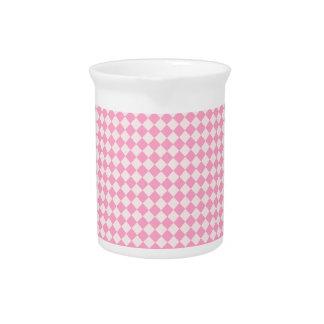 Rhombus - palidezca - rosa y rosa del clavel jarrones